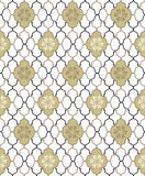 Floral seamless background. Abstract flourish pattern Royalty Free Stock Photography
