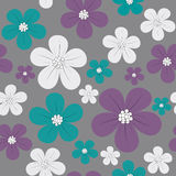 Floral seamless background Royalty Free Stock Image
