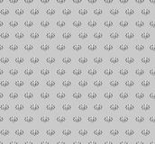 Floral seamless background. Abstract grey and whit Stock Photo