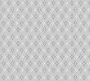 Floral seamless background. Abstract grey and white floral geometric Seamless Texture Royalty Free Stock Photos