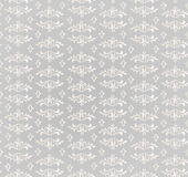 Floral seamless background. Abstract grey and whit Stock Photography