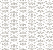 Floral seamless background. Abstract grey and white floral geometric Seamless Texture. Abstract Floral Seamless Vector Background Texture. Floral textile. Tile Royalty Free Stock Photos