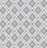 Floral seamless background. Abstract grey and white floral geometric Seamless Texture. Abstract Floral Seamless Vector Background Texture. Floral textile. Tile Stock Images