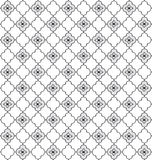 Floral seamless background. Abstract grey and white floral geometric Seamless Texture. Abstract Floral Seamless Vector Background Texture. Floral textile. Tile Royalty Free Stock Photo