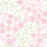 Floral seamless background. Abstract ornament geom Stock Photography
