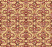 Floral seamless background. Abstract ornament geometric texture. Stock Photography