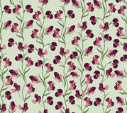 Floral seamless background. Abstract ornament geometric texture. Stock Photo