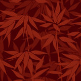 Floral seamless background. Bamboo forest pattern. Stock Images