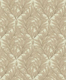 Floral seamless background. Brocade leaves pattern. Royalty Free Stock Photo