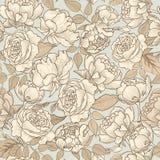 Floral seamless background. Decorative floirish pattern. Floral Stock Image