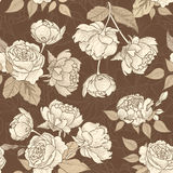 Floral seamless background. Decorative flower pattern. Floral se Royalty Free Stock Photography