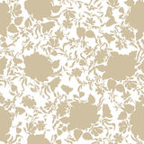 Floral seamless background. Decorative flower pattern. Floral se Royalty Free Stock Photo