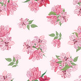 Floral seamless background. Decorative flower pattern. Floral se Stock Photography