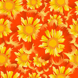 Floral seamless background for design Royalty Free Stock Image