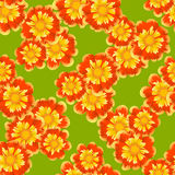 Floral seamless background for design Stock Photos