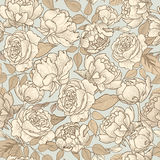 Floral seamless background. flower pattern. Flourish texture Stock Photography