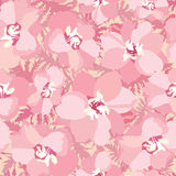 Floral seamless background. flowers pattern. Royalty Free Stock Photo