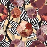 Floral seamless background. gentle flower pattern. vector illustration