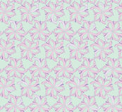 Floral seamless background from lilac flowers Royalty Free Stock Photos
