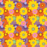 Floral seamless background pattern. Stock Photography