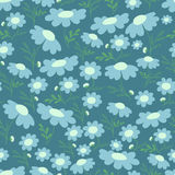 Floral seamless background. Royalty Free Stock Image
