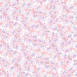 Floral seamless background, Pink flowers. Stock Photos