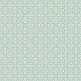 Floral seamless background in two colors Stock Image