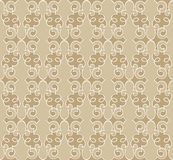 Floral seamless background from vignette Royalty Free Stock Photo