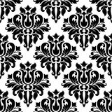 Floral seamless damask pattern Royalty Free Stock Photography