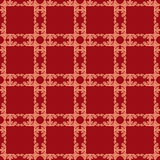 Floral seamless in damask style design pattern texture backgroun Stock Photography