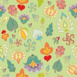 Floral  seamless decor Stock Images