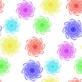 Floral seamless design Royalty Free Stock Photo