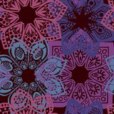 Floral seamless illustration Stock Photos