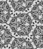 Floral seamless lace pattern Stock Image