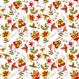 Floral seamless ornament Royalty Free Stock Photography