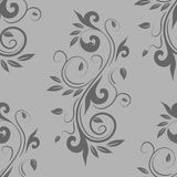Floral seamless ornament Stock Image
