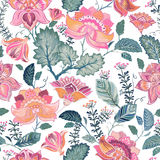 Floral seamless patter, provence style Stock Photography