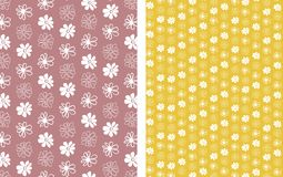 Floral seamless pattern 1 Royalty Free Stock Image