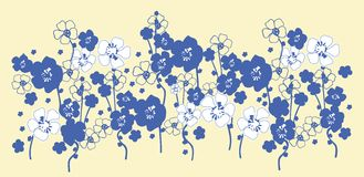 Floral seamless pattern Royalty Free Stock Photo