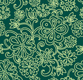 Floral seamless pattern. Vector illustration Royalty Free Stock Photography
