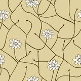 Floral seamless pattern. Vector illustration Stock Photo