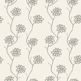 Floral seamless pattern. Vector illustration Royalty Free Stock Photos