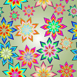 Floral seamless pattern. Seamless abstract natural preparation for the designer Royalty Free Stock Images