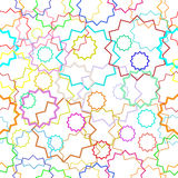 Floral seamless pattern. Seamless abstract natural preparation for the designer Stock Photo
