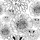 Floral seamless pattern. Universal template for greeting card, web page, background Royalty Free Stock Photography