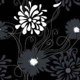 Floral seamless pattern. Universal template for greeting card, web page, background Stock Photo