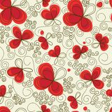 Floral seamless pattern Stock Photography