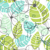 Floral seamless pattern Royalty Free Stock Images