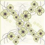 Floral seamless pattern Royalty Free Stock Photography