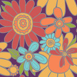 Floral seamless pattern. Beautiful floral vintage seamless background Royalty Free Stock Image